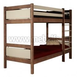 Двухъярусная детская кровать Брамминг (80х190см).