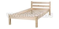Кровать Классика 120х200 (без изножья) из массива сосны
