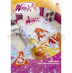 Детское постельное белье Winx Fery (арт.521302).