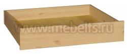 Малый ящик под кровать (комплект из 2х ящиков) из массива сосны.