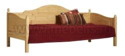 Односпальная кровать тахта K3 (70x160) из массива сосны.