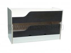 Двухъярусная выдвижная кровать Фунтик-3 ДМ/В (70х160см) с матрасами.