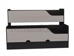 Двухъярусная выдвижная кровать Фунтик-3 В/ДМ (70х160см) с матрасами.
