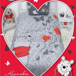 Детское постельное белье Винни пух Love (арт.521259).