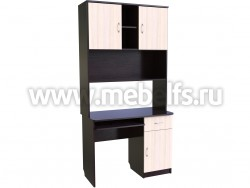 Компьютерный стол с надстройкой - секция парта (В/ДМ).