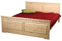 Кровать двуспальная Дания-1 180х200 из сосны.