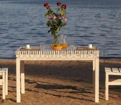 Дачный стол Лахти 80х120см (натура).
