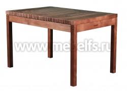 Дачный стол Лахти 80х120см (капучино).