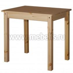 Обеденный стол 80х80 из массива сосны.