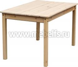 Обеденный стол 80x160 из массива сосны.