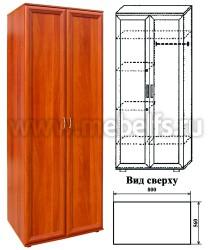Шкаф для одежды комбинированный (арт.431)