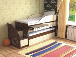 Двухъярусная кровать для двоих детей Дуэт-8 (ОЭВ).