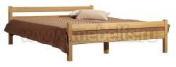 Кровать односпальная деревянная Классика (120х190).