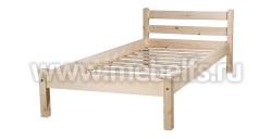 Односпальная кровать Классика (120х190/1).