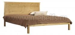 Кровать деревянная односпальная T1 (120х190) из массива сосны.