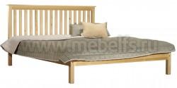 Двуспальная кровать R1 (Рина) 140х200 из сосны.