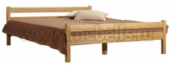Кровать двуспальная Классика 140х190 с матрасом.