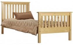 Двуспальная кровать R2 (Рина) 140х190 из массива сосны