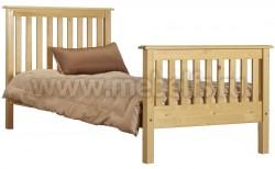 Двуспальная кровать R2 (Рина) 180х190 из массива сосны
