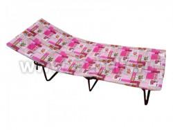 Детская кровать раскладушка Мечта-М с подголовником и матрасом.