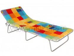 Кровать раскладушка Лаура-М (70х190) с подголовником и матрасом.