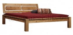Двуспальная кровать с изголовьем Брамминг-1 140х190 из сосны.