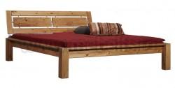 Двуспальная кровать с изголовьем Брамминг-1 160х190 из сосны.