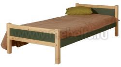 Детская односпальная кровать Сона 70х190 из дерева.