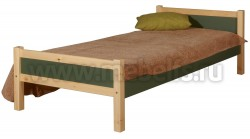 Кровать односпальная Сона 70х200 из дерева