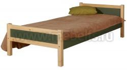 Детская односпальная кровать Сона 60х120 из дерева.