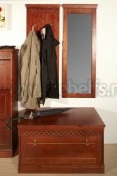 Зеркало Дания №2 в обрамлении из сосны.