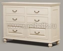 Комод Бьерт арт.1-6 с ящиками из массива дерева