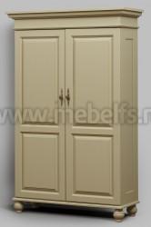 Шкаф 2-створчатый Бьерт арт.1-33 из массива.
