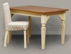Обеденный стол Бьерт арт.1-62 для гостиной из массива