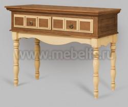 Консоль Валенсия арт.2-25 с ящиками из массива дерева