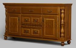 Комод Валенсия арт.2-31 с ящиками из массива сосны
