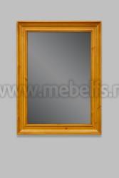 Зеркало Валенсия арт.2-43 из массива дерева