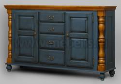 Комод Валенсия арт.2-54 с ящиками из массива сосны