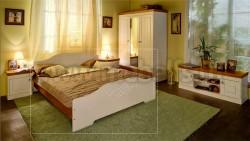 Кровать двуспальная деревянная Аури 140х200 из сосны.