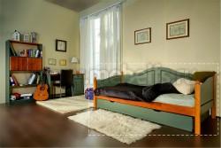 Односпальная кровать-тахта К3 (70x160) с большим ящиком.