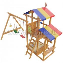 Детская игровая деревянная площадка Кирибати
