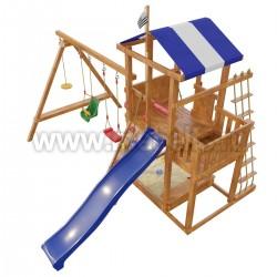 Детская игровая деревянная площадка Бретань