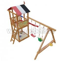 Детская игровая деревянная площадка Амстердам