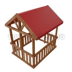Детская деревянная игровая беседка Гоа
