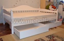 Односпальная кровать-тахта F3 (90х200) с ящиками.