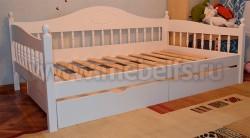 Односпальная кровать-тахта F3 (120х200) с ящиками.