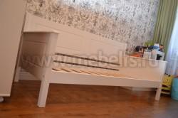 Односпальная кровать тахта Т3 70х150 из массива сосны.
