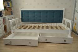 Кровать-тахта Дания 90х200 мягкая с ящиками