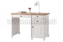 Стол письменный Айно №4 из сосны с ящиками