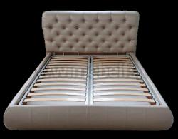 Односпальная кровать Вильгельм 80х200 с мягкой спинкой